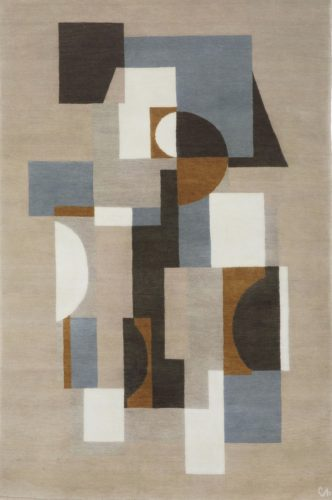 'Puffin' Hand-knotted rug (2.26 x 1.40 m)