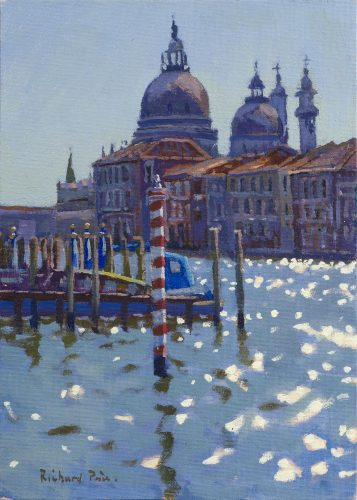 RICHARD PRICE, ROI (b.1962) 'Sunny Day, Venice' Oil on canvas 14