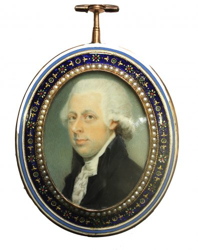 Fine portrait of a Gentleman, possibly William Pitt, by Charles Shirreff