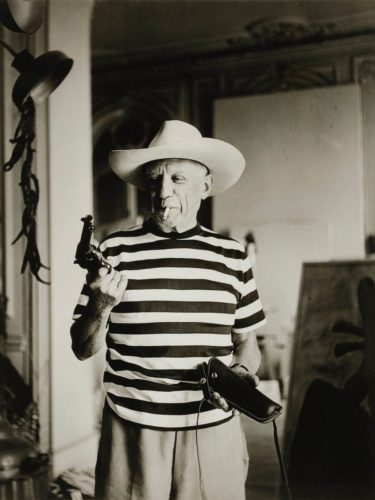 Photos of Picasso by Andre Villers