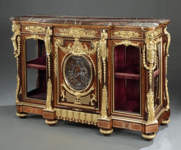Vienna Exhibition Cabinet by Gueret Freres
