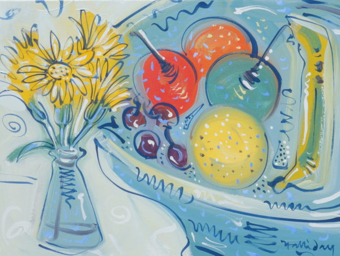 Alan Halliday, 'Chelsea Still Life', Oil on canvas