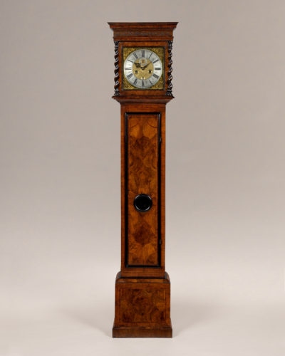 A rare late 17th century longcase clock by Colchester maker Jeremiah Spurgin