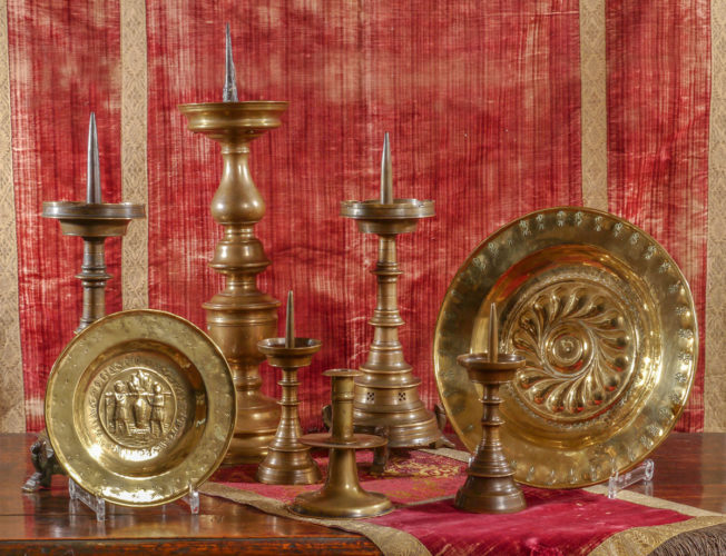 A Selection of Metalware from the 14th to 16th Centuries