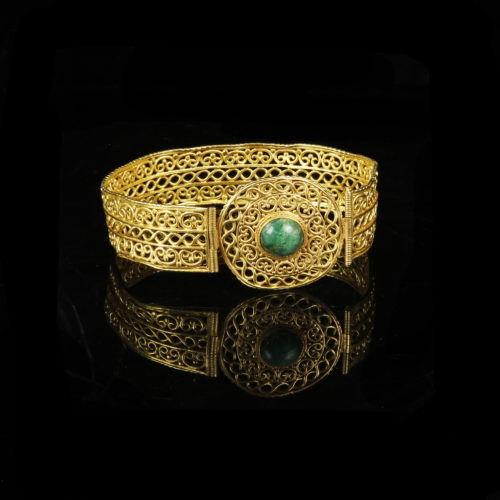 Extraordinary Byzantine Gold Bracelet 5th – 6th cent. AD