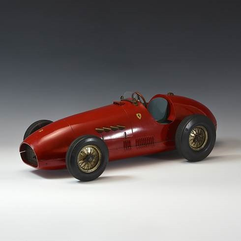 Fine 1:6 scale model of a Ferrari F500 F2 c.1955