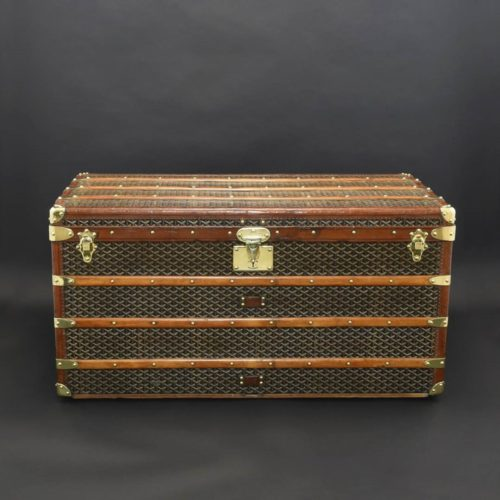 Goyard steamer trunk c.1909