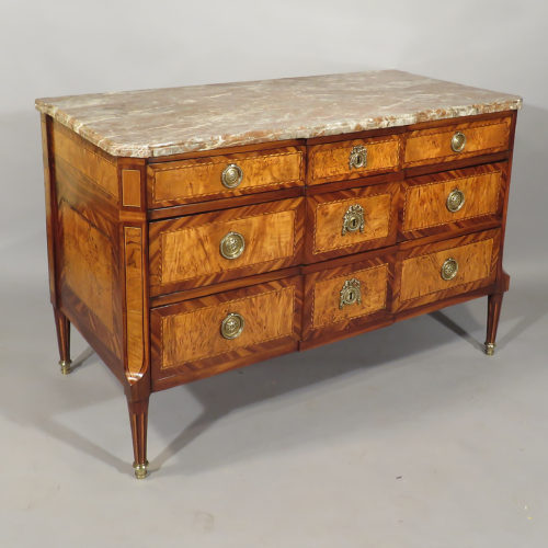 18th century kingwood and yewood French commode