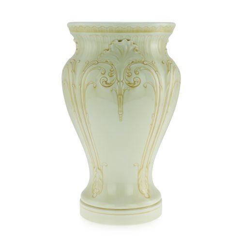 A rare Sèvres vase decorated with yellow enamel, circa 1892