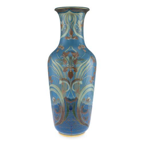 A Meissen Art Nouveau pâte-sur-pâte exhibition vase, circa 1900