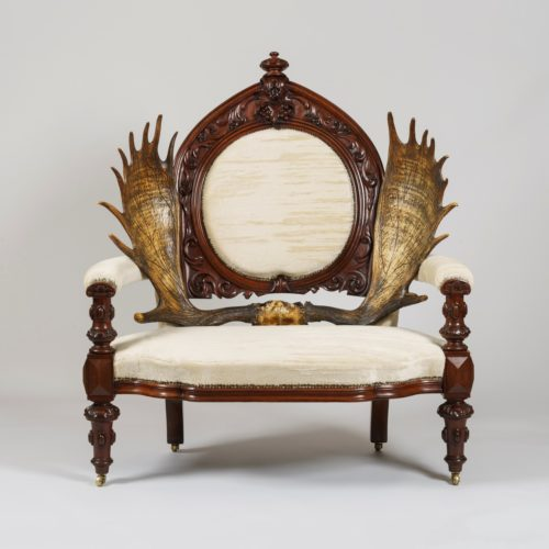 A Remarkable Scottish Laird's Armchair, Circa 1850