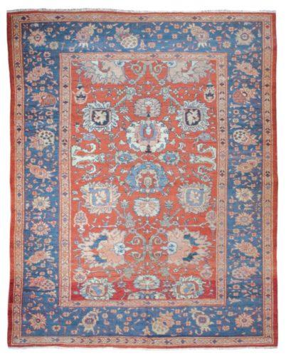 Antique Ziegler carpet, Sultanabad, Persia, circa 1880 - 295 x 236 cm