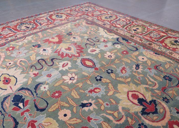 Exceptional Tabriz carpet, Persia, c.1890's