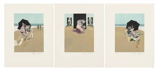 Francis Bacon - 'Metropolitan Triptych'