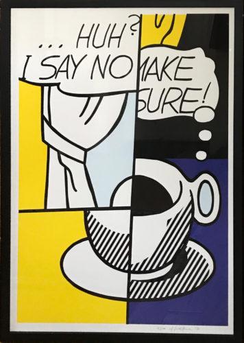Roy Lichtenstein - 'Huh?'