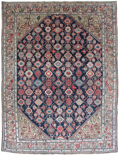 Antique Persian Malayer rug, circa 1880. 1.91 x 1.38m