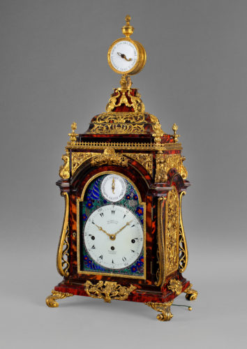 A magnificent George III musical clock by HENRY BORRELL, LONDON