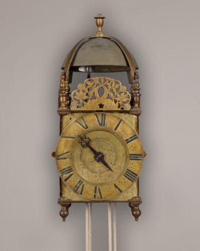 Lantern clock by Richard Savage de Wenlock Magna Fecit