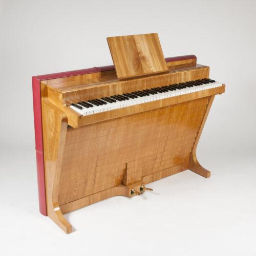 Andreas Christensen elm & leather PH piano, Denmark, 1937.