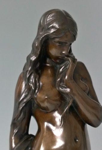 Alexandre Falguiere (1831-1900) La Cigale bronze c.1880 Goupil cast