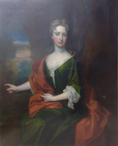 Portrait of a Lady signed by Godfrey Kneller (Lubeck 1646-1723 London), c.1715