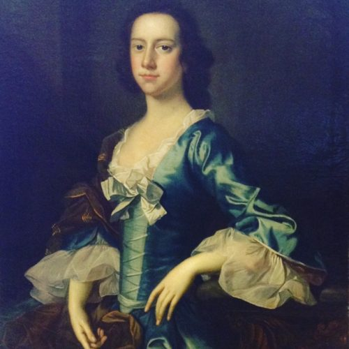 Jane Champernowne by Thomas Hudson (Devon 1701-1779 Twickenham), c. 1760