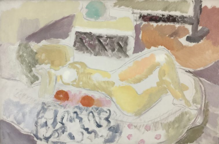 Ivon Hitchens 1893-1979 Juno Reclining, 1934 Oil on canvas 19 3/4 x 29 7/8 in 50 x 76 cm