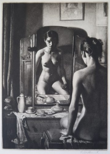 Artist: Gerald Brockhurst RA. (British 1890 - 1978) Title