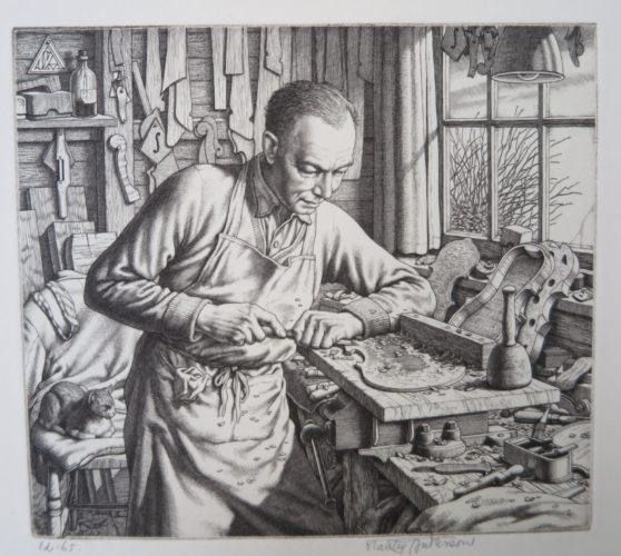 Artist: Stanley Anderson RA ( British 1884 - 1966) Title: