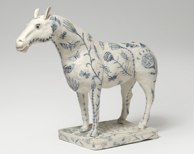 Georgina Warne, The Seeds of Love Porcelain, 36 x 47 x 17cm