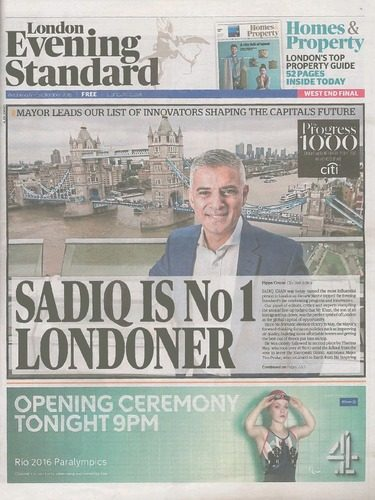 The Evening Standard<br />