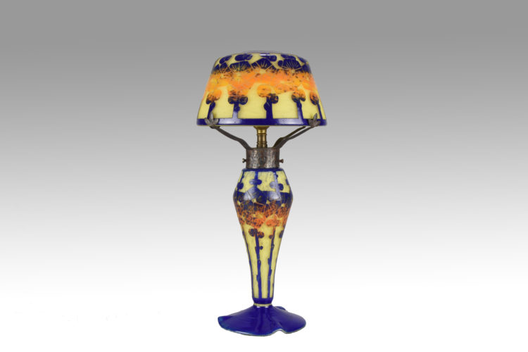 Mirette Lamp by Le Verre Francais - £3,850 - 38 cm High