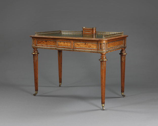 19th century writing desk attributed to Holland & Sons. English, circa 1860