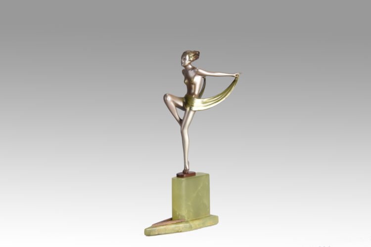 Zephyr by Josef Lorenzl - £2,950 - 28 cm High