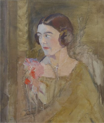 'Portrait of a Woman' by Amy Millar Watt (1900–1957)