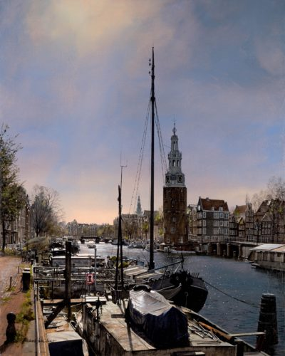 Montelbaan Tower, Amsterdam by Michael John Hunt 30