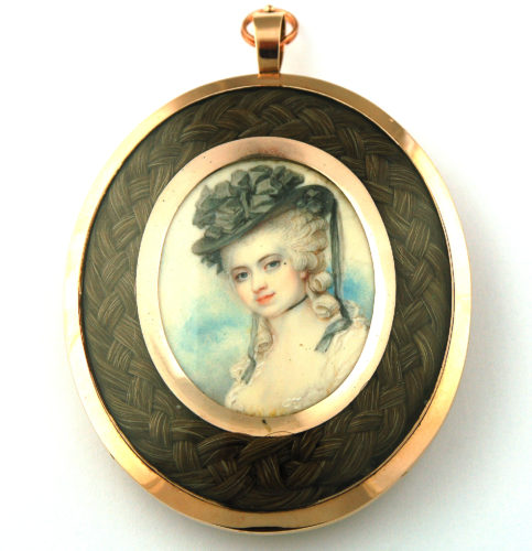 Portrait miniature by Richard Cosway C1790