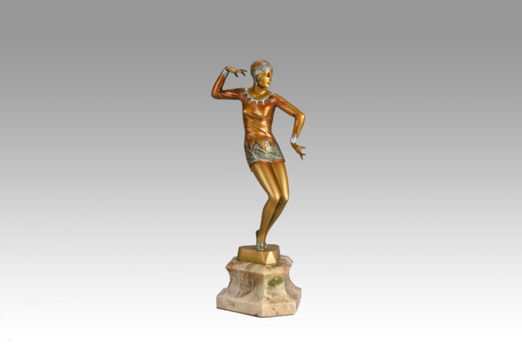 Charleston Dancer by Fritz Ferdinand Preiss - £ 8,500 - 37 cm High