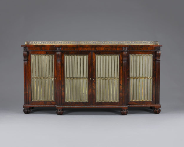 Regency period side cabinet attributed to Gillow's of Lancaster