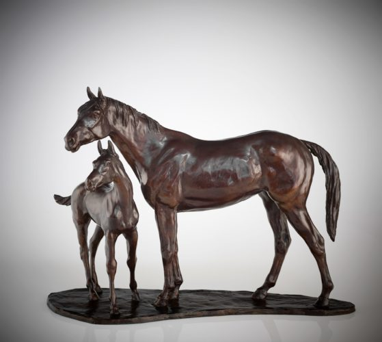 Philip Blacker - Mare & Foal - Bronze Sculpture - Edition of 9 - Signed & Numbered