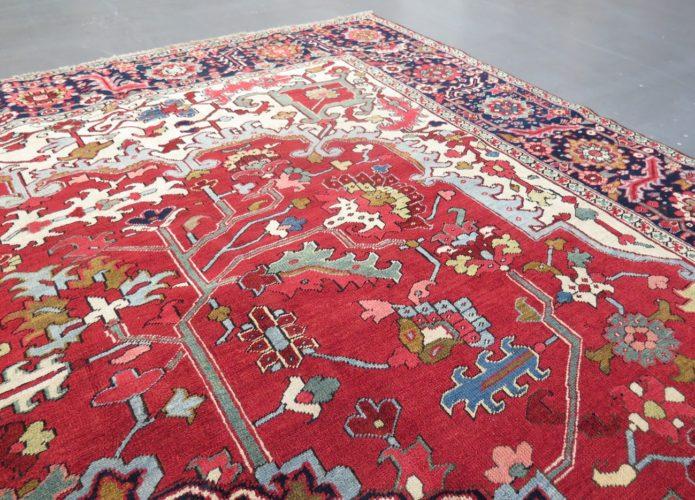 Serapi Heriz carpet, Persia, c/ 1890