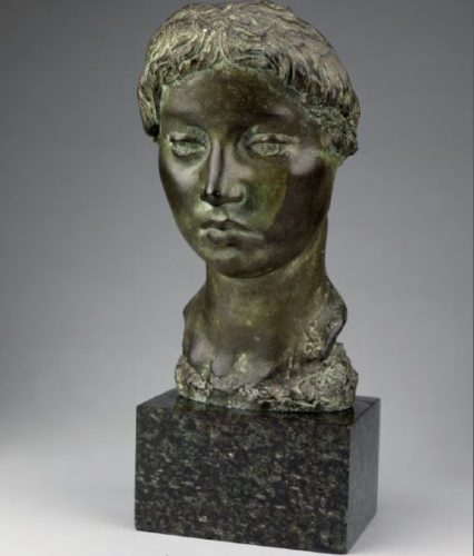 Alfred Turner, 'The Sculptor's Muse, bronze, 17