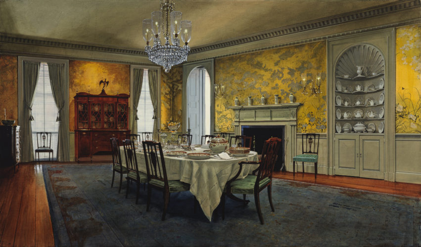Michael John Hunt - The Dining Room