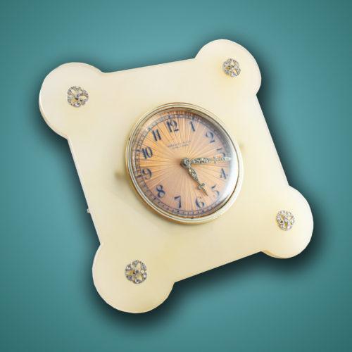 Art Deco Tiffany & Co. Table Clock, ca. 1920s