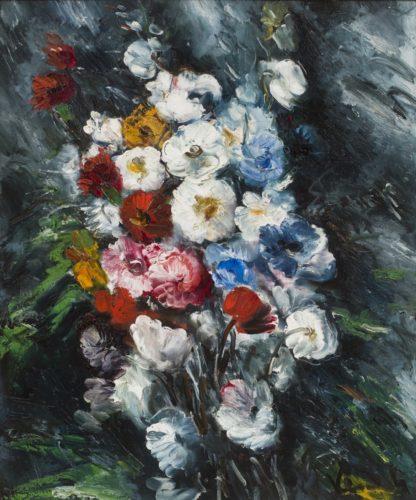 "Maurice de Vlaminck (French, 1876 - 1958) ""Jetée de Fleurs"""