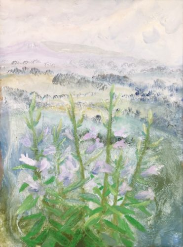 Winifred Nicholson 1893-1981 Bell Flowers, 1972 signed and dated on the canvas overlap oil on canvas 60.8 x 45.7 cm 24 x 18 in