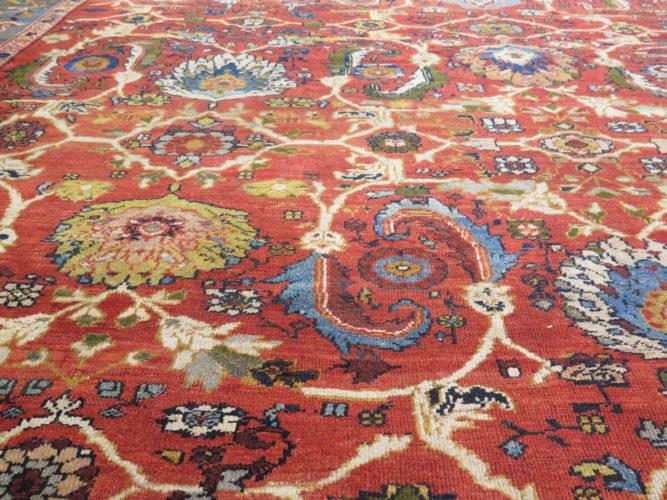 19th century Ziegler carpet, Persia, 5.30 x 4.33 metres