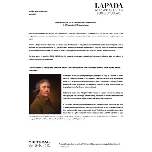 Press Release - LAPADA Fair Highlights
