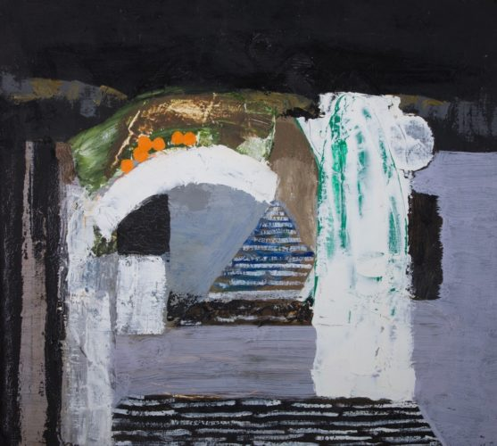 ALISTAIR GRANT 1925 - 1997 Rome Oil on Canvas Signed, dated 1985 and titled verso
