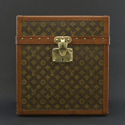 Immaculate Louis Vuitton fitted hat box c. 1910